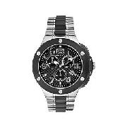Marc Ecko E900 Men's Black Dial Chronograph Bracelet Watch