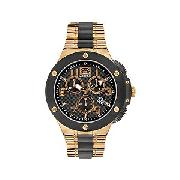 Marc Ecko E901 Men's Black Dial Chronograph Bracelet Watch