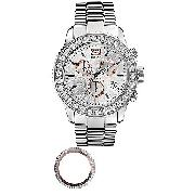 Marc Ecko Master Men's Silver Dial Bracelet Watch