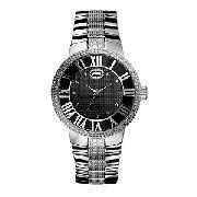 Marc Ecko the Deca Men's Black Dial Bracelet Watch