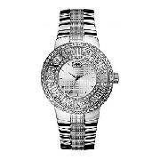 Marc Ecko the Deca Men's Silver Dial Bracelet Watch