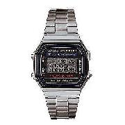 Men's Casio Watch with Stopwatch and Daily Alarm
