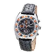 Men's Police Chronograph Grey Dial Watch