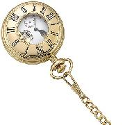 Mount Royal Gold-Plated Pocket Watch
