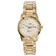 Pulsar Men's Gold-Plated Bracelet Watch