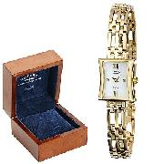 Rotary Ladies' 9ct Gold Bracelet Watch