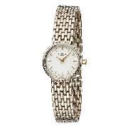 Rotary Ladies' Gold-Plated Bracelet Watch with Gold Dial