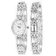 Rotary Ladies' Sterling Silver Watch and Bracelet Set