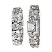 Rotary Ladies' Stone-Set Watch and Bracelet Set