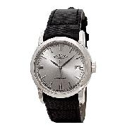 Rotary Men's Black Strap Watch