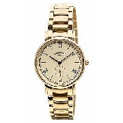 Rotary Men's Gold-Plated Bracelet Watch