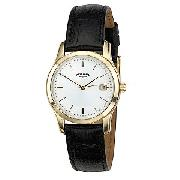 Rotary Men's Leather Strap Watch