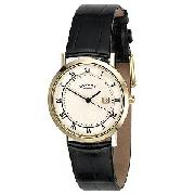 Rotary Men's Watch with Leather Strap