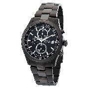 Accurist Men's Ion-Plated Chronograph Watch