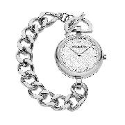 Burberry Ladies' Stainless Steel Chain Watch