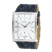 Calvin Klein Jeans Boundary Denim Unisex Watch