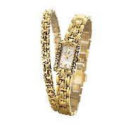 Citizen Eco-Drive Ladies'crystal Watch and Bracelet Set