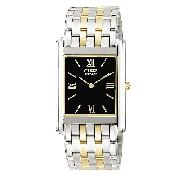 Citizen Eco-Drive Stiletto Men's Two-Tone Bracelet Watch
