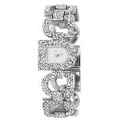 DKNY Ladies' Swarovski Crystal Bracelet Watch