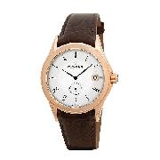Dreyfuss and Co. Men's Brown Strap Watch