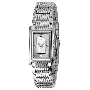 Emporio Armani Ladies' Mother of Pearl Diamond-Set Watch