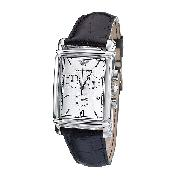 Emporio Armani Men's Leather Strap Watch