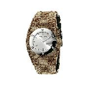 Gucci G Bandeau Ladies' Fabric Strap Watch
