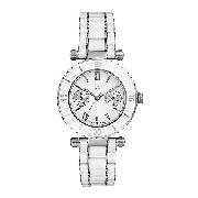 Guess Collection Dive Ladies' White Enamel Bracelet Watch