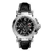 Guess Collection Men's Black Dial Chronograph Watch