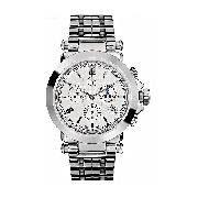 Guess Collection Men's Silver Dial Bracelet Watch