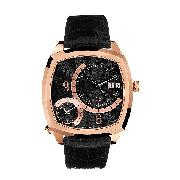 Guess Collection Men's Universe Black Dial Watch