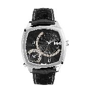 Guess Collection Universe Men's Black Dial Watch