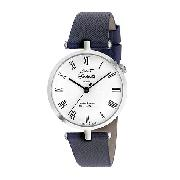J and T Windmills Ladies' Sterling Silver Mechanical Watch