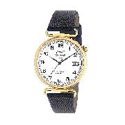 J and T Windmills Men's 18ct Gold Mechanical Watch