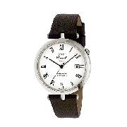 J and T Windmills Threadneedle Men's Sterling Silver Watch