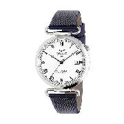 J and T Windmills Throgmorton Men's Sterling Silver Watch