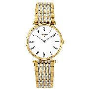 Longines La Grand Classique Men's Gold-Plated Watch