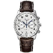 Longines Master Collection Men's Leather Strap Automatic Watch