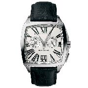 Maurice Lacroix Coussin Men's Stainless Steel Alarm Watch