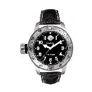Nautica Men's Diver Black Strap Watch