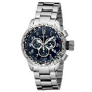 Nautica Men's Stainless Steel Chronograph Bracelet Watch