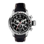 Nautica Men's Stainless Steel Chronograph Strap Watch