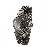 Oakley Judge Men's Ion-Plated Chronograph Watch