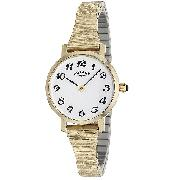 Rotary Ladies' Gold-Plated Bangle Watch