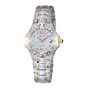 Seiko Coutura Ladies' Stainless Steel Diamond-Set Watch