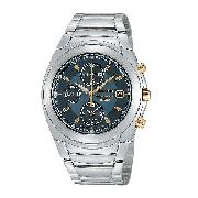 Seiko Men's Two-Colour Chronograph Watch