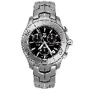 Tag Heuer Link Men's Stainless Steel Chronograph Watch
