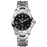 Tag Heuer Men's Black Dial Bracelet Watch