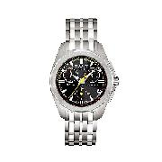 Tissot PRC100 Men's Stainless Steel Chronograph Watch
