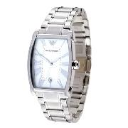 Armani Gents with Silver Dial: Exclusive To Goldsmiths
